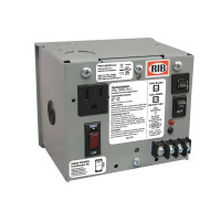 PSH100AB10-IC - UL508 Encl. Single 100VA 120 to 24Vac UL Class 2 power supply 10A main breaker