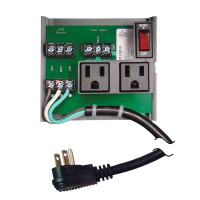 PSM2RB10 - UPS Interface Board 10A Breaker 120Vac 2 outlets