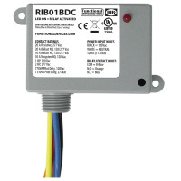 RIB01BDC - Relay,Dry Contact Input ,120Vac Pwr ,SPDT