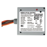 RIB01P30-NONC - Enclosed Relay 30Amp DPST-NONC 120Vac