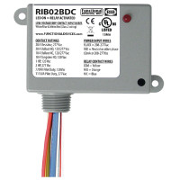 RIB02BDC - Relay,2 Dry Contact Input, 208/277Vac ,20Amp Spdt