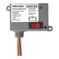 RIB02SBDC - Relay,2 Dry Contact Input, 208/277Vac ,20Amp Spst