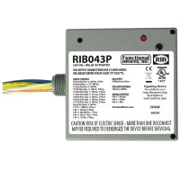 RIB043P - Functional Devices Enclosed Relay 20Amp 3PST 480Vac