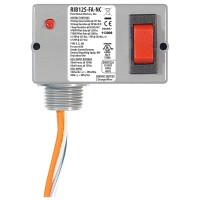 RIB12S-FA-NC - Enclosed Relay 10 Amp SPST-N/O + Override,