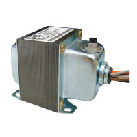 TR100VA015 - Transformer 100VA, 480/277/240/208/120 to 24 Vac, Circuit Breaker, Foot and Single Threaded Hub Mount