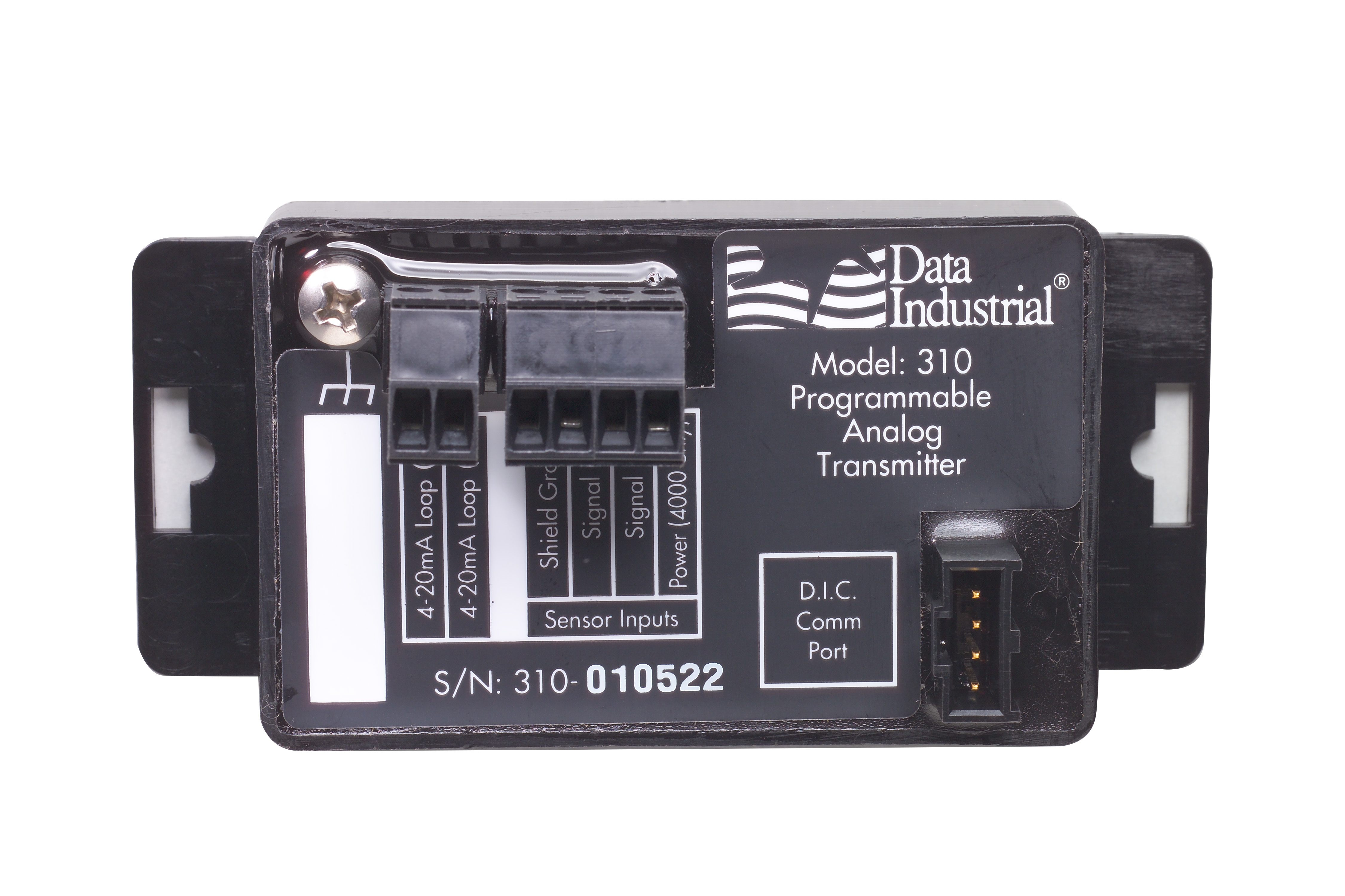 310-00 - Badger Series 310 Panel Mount Programmable Analog Flow Transmitter