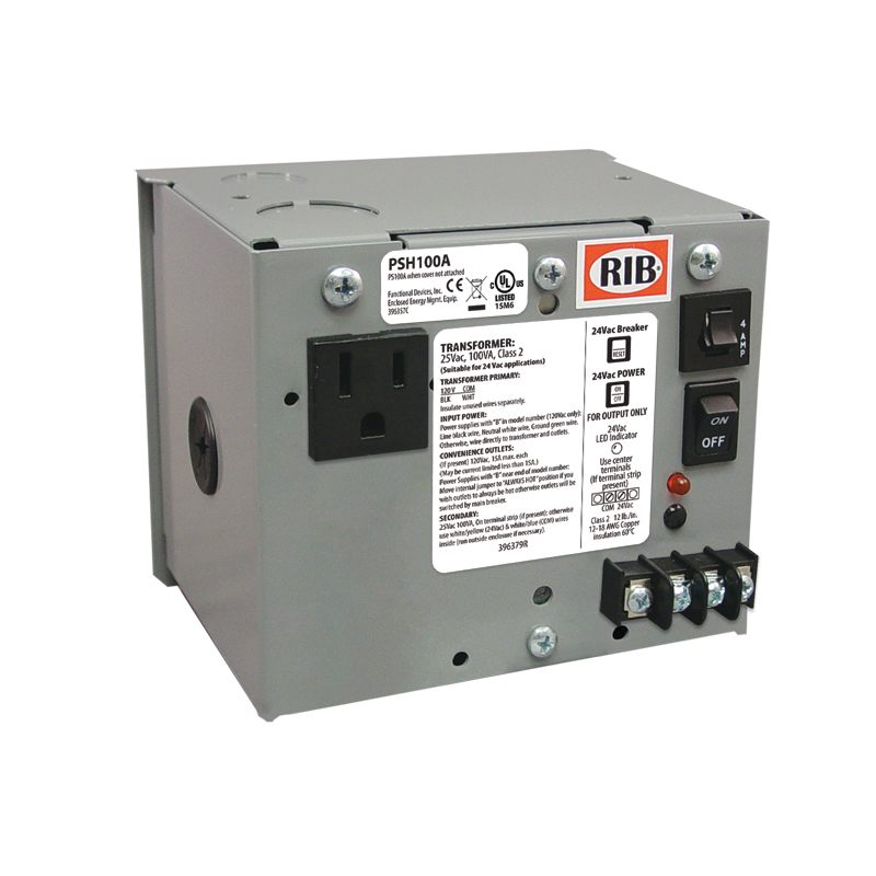 Functional Devices  PSH100A AC Power Supplies