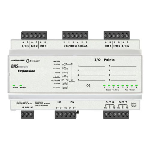 Contemporary Controls  BASR-8X Networking Gear