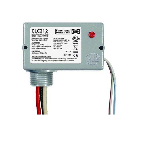 CLC212 - Closet Light Switch, Enclosed 10A SPST, 120-277 Va