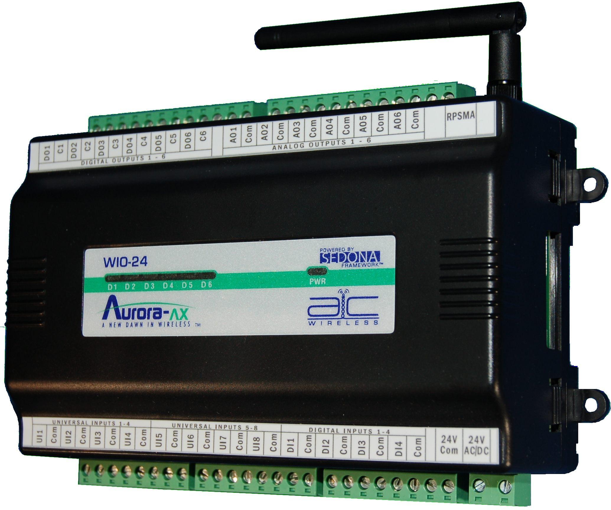 Wio 24 Aurora Ax Ddc Controls Wireless Devices
