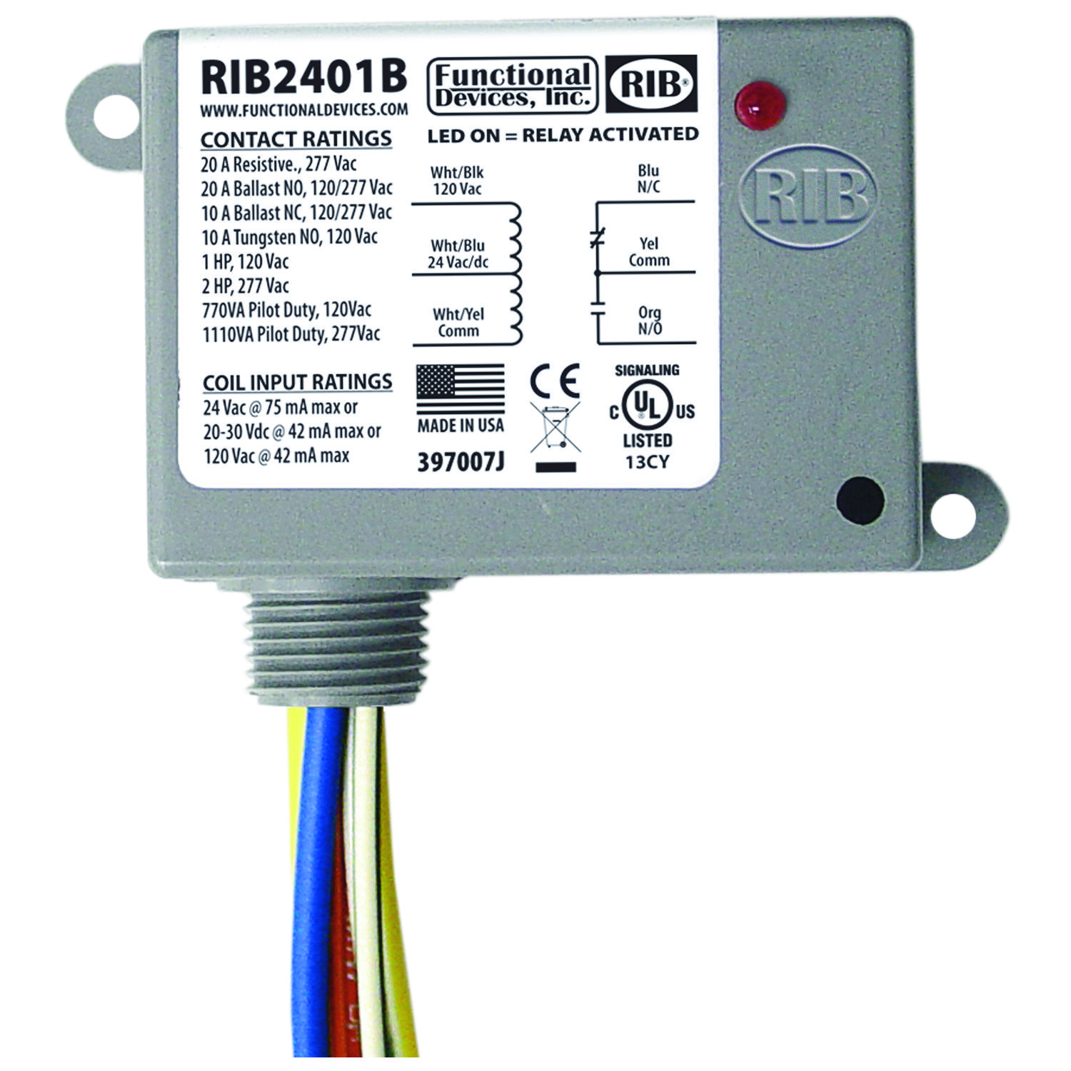 Functional Devices  RIB2401B Relays