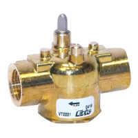"VT3517 - Schneider Electric 1-1/4"" Sweat, 2-Position, 3-Way, General Temp"