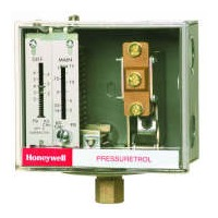 L404F1235 - Honeywell Pressuretrol Controllers, Auto recycle, 20 psi to 300 psi