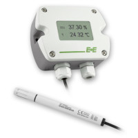 EE210-HT3XQC / UWTX083N - E+E Elektronik Outdoor Air Temperature & Humidity Transmitter 4-20mA