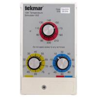 "002 - Tekmar 10K Temperature Simulator, NTC Thermistor, White PVC plastic with 24"" Wire, NEMA 1"