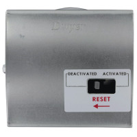 "1831-2-RA-S - DPDT Dwyer Low Differential Pressure Switch, Range 7.5-23.0"" w.c., Silicone Diaphragm"