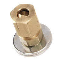 "A-307 - Dwyer Static Pressure Fitting, For 1/4"" Metal Tubing Connection"