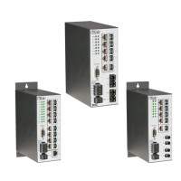 EISC12-100T/FT - Contemporary Controls, Configurable Switch, 10 Port 10/100 Mbps + 2 Port 100BASE-FX MM ST Connector