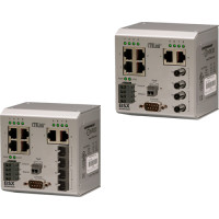 EISX8M-100T/FC - Contemporary Controls Compact Switch, 6 Ports 10/100 Mbps, 2 Ports 100 Mbps MM Fibre SC Connector