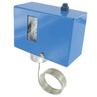 DFS-DA10 - Dwyer Low Limit Freeze Protection Switch, DPDT, Auto Reset, 10ft Capillary