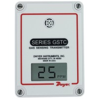 GSTC-C - Dwyer CO Transmitter, 2%, 0-500 ppm, Wall Mount, BACnet and Modbus Communication