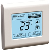 SMT-131 - EasyIO Modbus Hotel Network thermostat with Touchscreen (Non UL)
