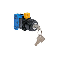 HW1K-2AF10 - IDEC 2-Position Key Switch, 22mm