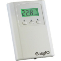 EasyIO PS_NTRCLRHPS - EasyIO BACnet (or Modbus) Sensor, Room/Wall Temp and Hum