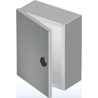 "1100 EN202010 - EXM NEMA 1 Hinged Cover Junction Box, 20"" x 20"" x 10"" , no knockouts"