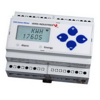 E51H2A - Veris Industries Single Circuit Enhanced Power and Energy Meter, 0.2% Accuracy, 5-32000A Scaling