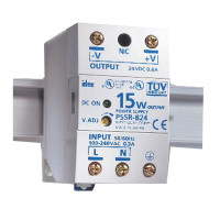 PS12-15W - Veris Industries DC Power Supply, 100-240VAC/110-340VDC Input, 12VDC Output, 15W Power