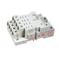 VBD4B-F - Veris Industries DIN Mount Socket for 4PDT Relay, 16A, 300V, -40 to 131