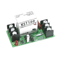 VST100 - Veris Industries Track Mount Relays, SPDT, 10-30VAC/DC, 120VAC, 10A