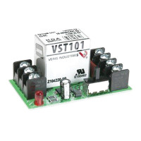 VST101 - Veris Industries Track Mount Relays, SPDT, 24VAC/DC, 10A