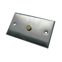 AA56 - Veris Industries Static Pressure Pickup Port, Wall Mount, Stainless Steel