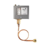 "P70AB-12C - Johnson Controls Low Pressure Single Pressure Control, 12"" Hg - 80 psi, SPST Switch"