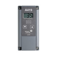 A419ABC-1C - Johnson Controls Electronic Temperature Control W/LCD Display, SPDT Switch