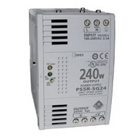 PS5R-SG24 - IDEC Slim Series Switching Power Supply, 24VDC, 10A, 240W, Din-Rail Mount