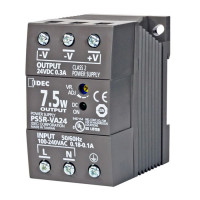 PS5R-VA12 - IDEC Switching Power Supply, 12VDC, 0.6A, 7.5W, Din-Rail Mount