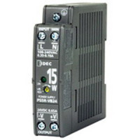 PS5R-VB24 - IDEC Switching Power Supply, 24VDC, 0.65A, 15W, Din-Rail Mount