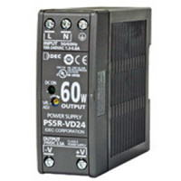 PS5R-VD24 - IDEC Switching Power Supply, 24VDC, 2.5A, 60W, Din-Rail Mount