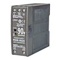 PS5R-VE24 - IDEC Switching Power Supply, 24VDC, 3.75A, 90W, Din-Rail Mount