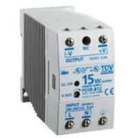 PS5R-B12 - IDEC Standard Series Switching Power Supply, 12VDC, 1.2A, 15W, Din-Rail Mount