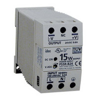 PS5R-B24 - IDEC Standard Series Switching Power Supply, 24VDC, 0.6A, 15W, Din-Rail Mount