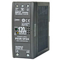 PS5R-VF24 - IDEC Switching Power Supply, 24VDC, 5A, 120W, Din-Rail Mount