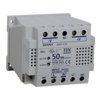 PS5R-D24 - IDEC Standard Series Switching Power Supply, 24VDC, 2.1A, 50W, Din-Rail Mount