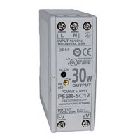 PS5R-SC12 - IDEC Slim Series Switching Power Supply, 12VDC, 2.5A, 30W, Din-Rail Mount