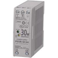 PS5R-SC24 - IDEC Slim Series Switching Power Supply, 24VDC, 1.3A, 30W, Din-Rail Mount