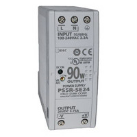 PS5R-SE24 - IDEC Slim Series Switching Power Supply, 24VDC, 3.75A, 90W, Din-Rail Mount