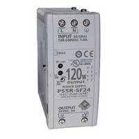 PS5R-F24 - IDEC Standard Series Switching Power Supply, 24VDC, 5A, 120W, Din-Rail Mount